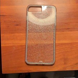 iphone 7+ sparkly case